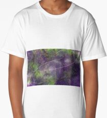 Lilac Invaders Long T-Shirt