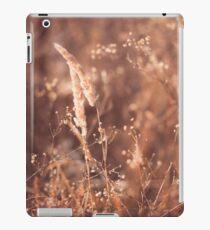 Tender autumn spikelets iPad Case/Skin