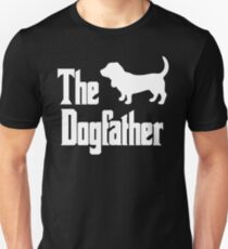 The Dogfather Basset Hound Dog Unisex T-Shirt