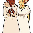 natasha and sonya by shibuki