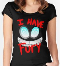 I Have Fury! - Fawful  Women's Fitted Scoop T-Shirt