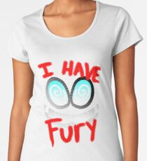 I Have Fury! - Fawful  Women's Premium T-Shirt