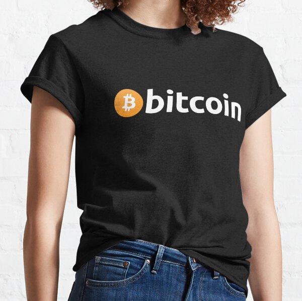 Bitcoin Logo Classic T-Shirt