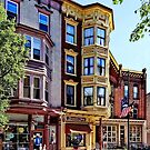 Jim Thorpe PA - Shops Along Broadway by Susan Savad