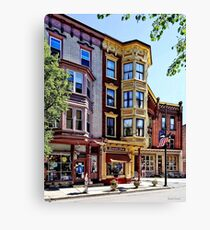 Jim Thorpe PA - Shops Along Broadway Canvas Print