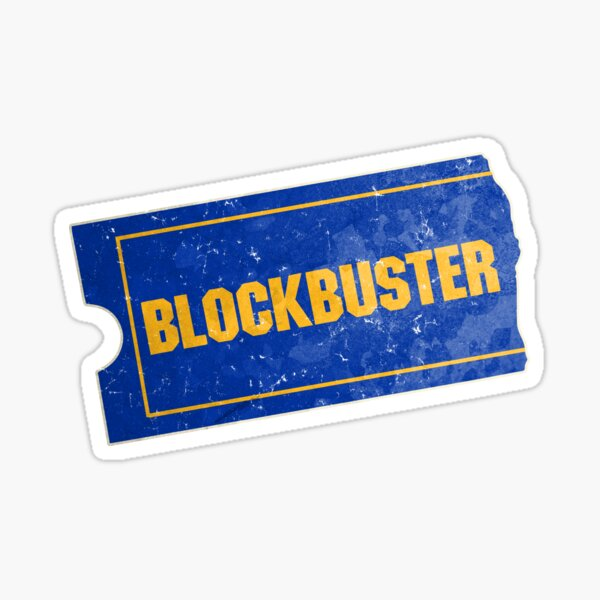 Blockbuster Sticker
