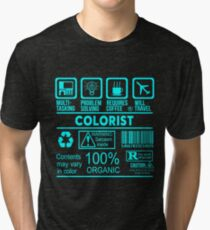 COLORIST - NICE DESIGN 2017 Tri-blend T-Shirt