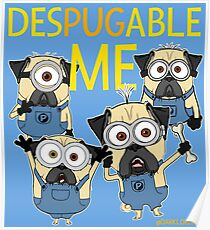 DESPUGABLE ME Poster