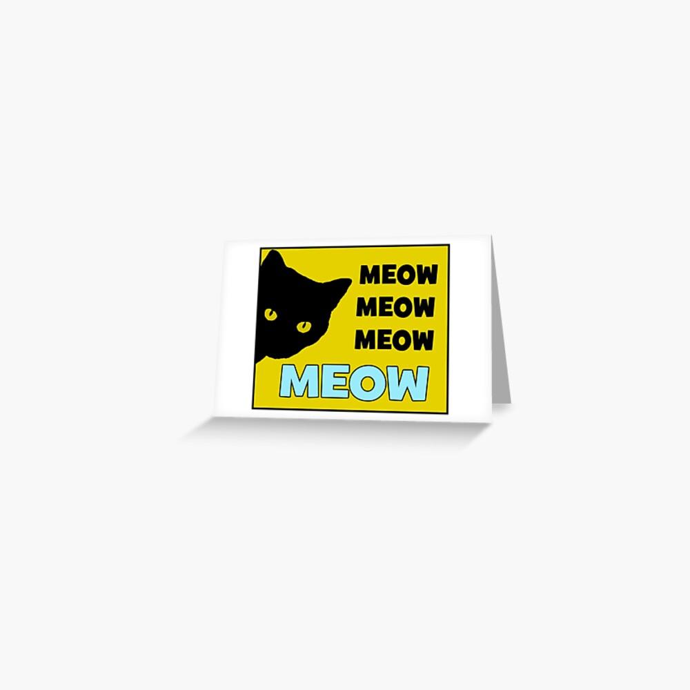 Cat Tags Roblox Roblox Cat Sir Meows A Lot Postcard By Jenr8d Designs Redbubble