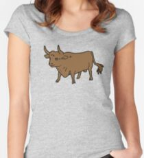 Happy Cow - In a Good Paddock Women's Fitted Scoop T-Shirt
