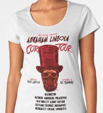 DOLLOP - Abraham Lincoln Corpse Tour Women's Premium T-Shirt