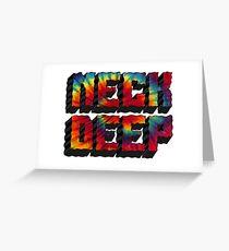 Neck Deep Tie Dye Greeting Card