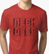Transparent Neck Deep Tri-blend T-Shirt