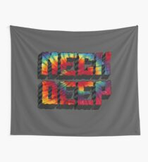 Neck Deep Tie Dye Wall Tapestry