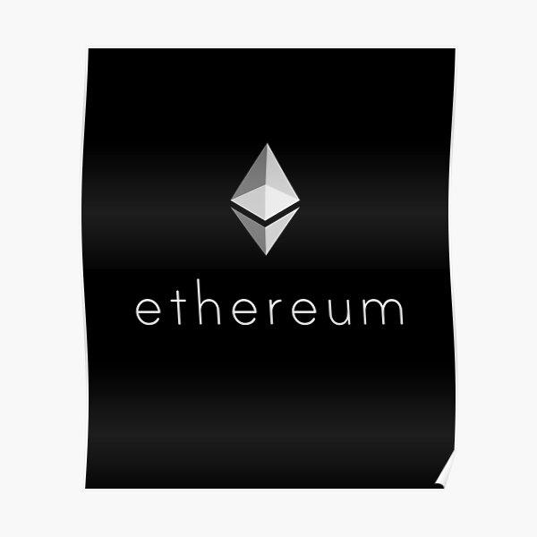 Ethereum Logo Poster