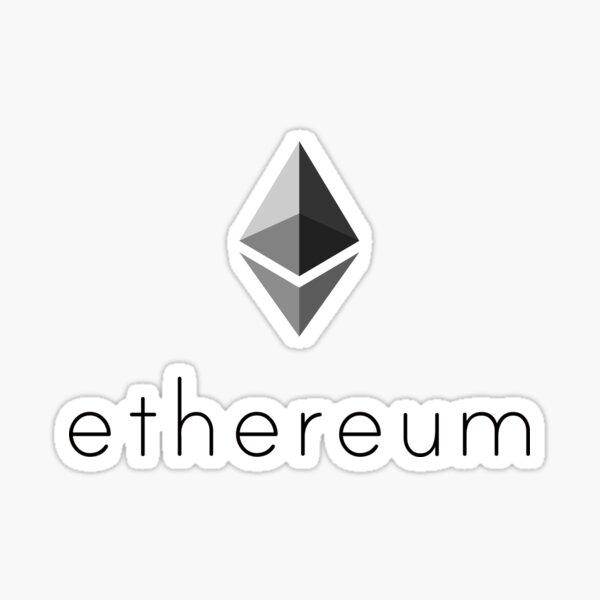 Ethereum Logo Sticker