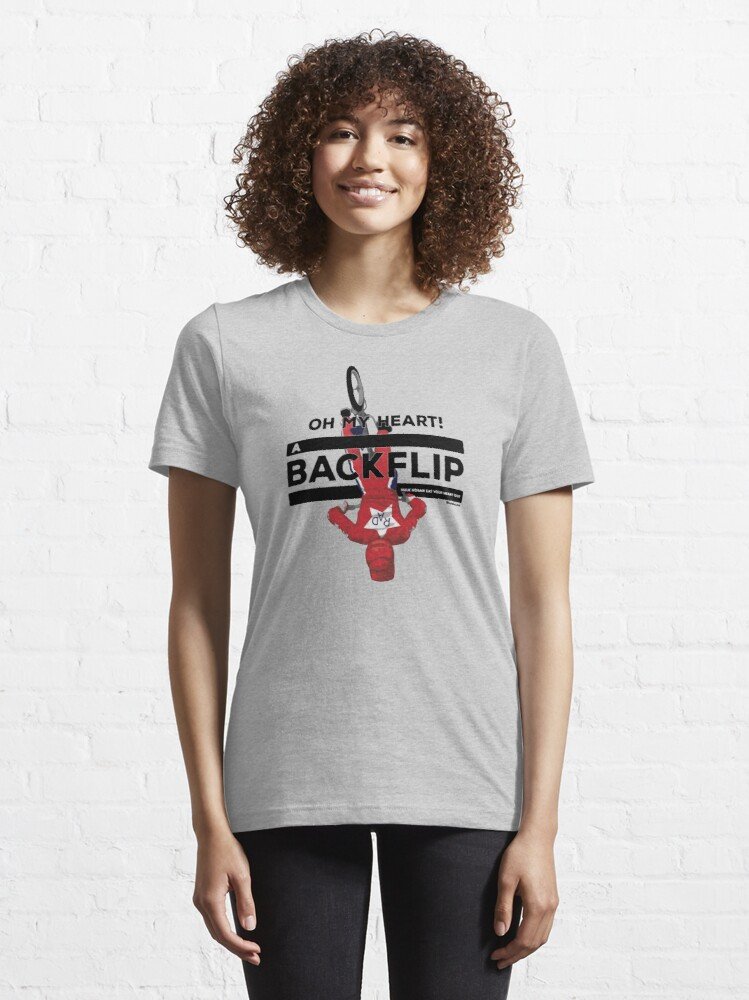 Alternate view of Oh My Heart A BACKFLIP Essential T-Shirt