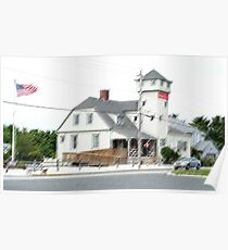 Retired Coast Guard Station-Stone Harbor, NJ Poster