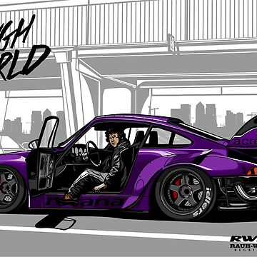 ROUGH WORLD - RWB Rotana by aquillacallista