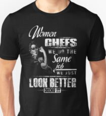 Chef Chef's Hat dinner chef pirate chef pastry c T-Shirt  Unisex T-Shirt