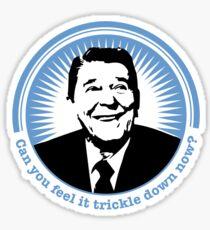 Trickle Down Sticker