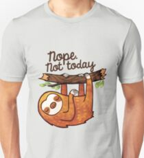 Sloth Nope Unisex T-Shirt