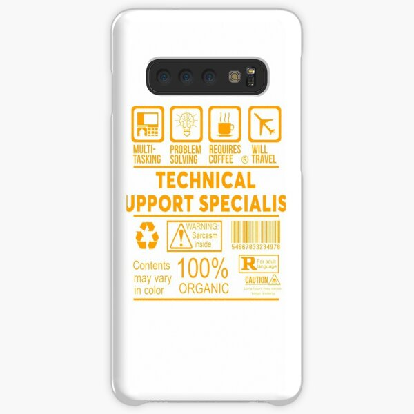 TECHNICAL SUPPORT SPECIALIST - NICE DESIGN 2017 Samsung Galaxy Snap Case