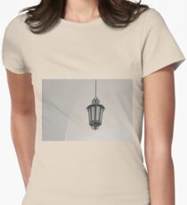 Old lantern Womens Fitted T-Shirt