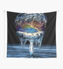 earth water  Wall Tapestry