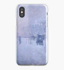 Late Afternoon New York Winter - Childe Hassam iPhone Case