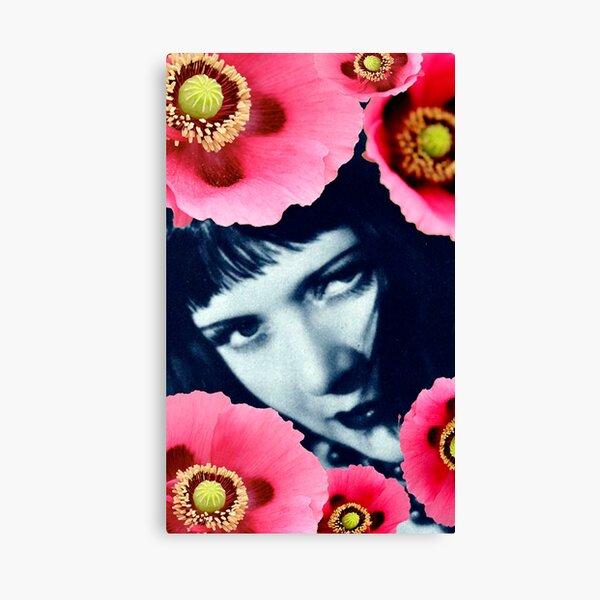 Miss Poppy Canvas Print