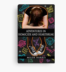 Adventures in Homicide and Heartbreak book cover Canvas Print