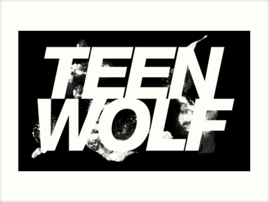 'Teen Wolf Logo' Art Print by bitchyboy