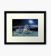 Sphinx of ancient times Framed Print
