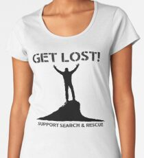 Support Search & Rescue Women's Premium T-Shirt