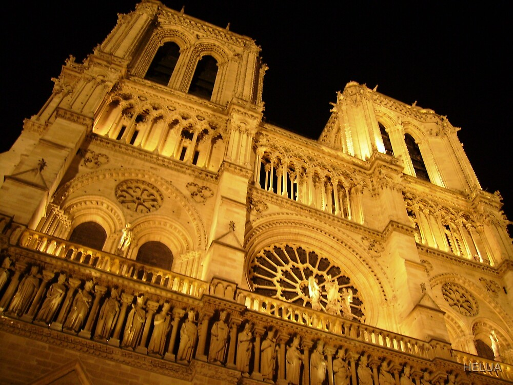 Cathedral by Night by HELUA