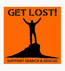 Support Search & Rescue Photographic Print