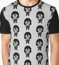 Tired Aizawa Graphic T-Shirt
