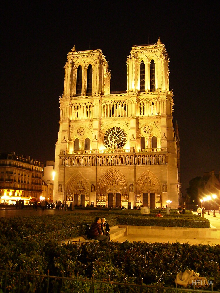 Cathedral by Night III by HELUA
