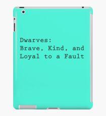 Definition of Dwarves iPad Case/Skin