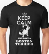 Boston terrier face T-Shirt