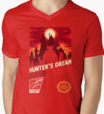 HUNTER'S DREAM Mens V-Neck T-Shirt