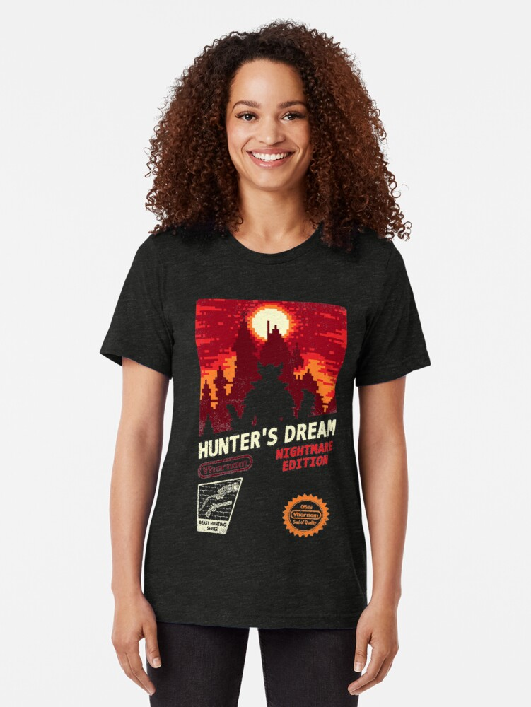 Alternate view of HUNTER'S DREAM Tri-blend T-Shirt
