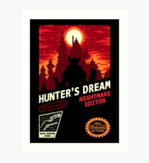 HUNTER'S DREAM Art Print