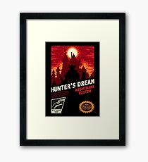 HUNTER'S DREAM Framed Print