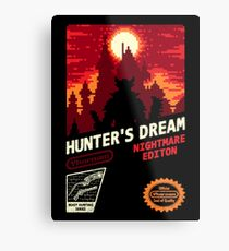 HUNTER'S DREAM Metal Print