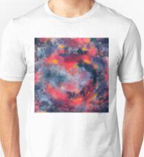 Abstract Texture Digital Paint Unisex T-Shirt