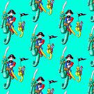 Seahorse Piracey by Brett Perryman