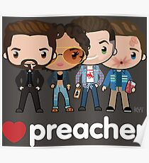 Love Preacher - Jesse, Tulip, Cass & Eugene Poster