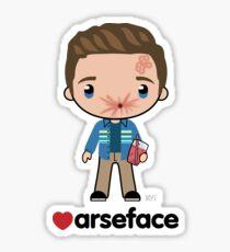 Love Arseface - Preacher Sticker